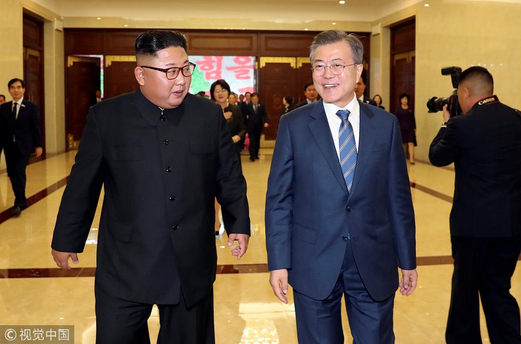 文在寅:金正恩欲废除所有核武器 实现完全无核化