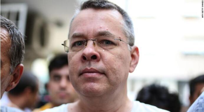 被土耳其拘禁的美国牧师获释 曾引发美土外交争端