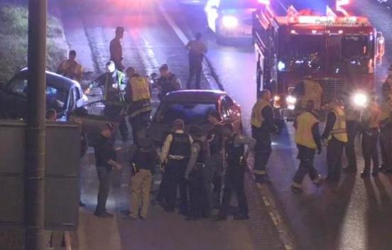 美国一州际公路上发生枪击案 致多人受伤(图)