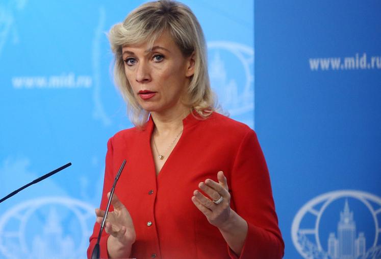 俄罗斯外交部发言人扎哈罗娃 (图源:塔斯社)