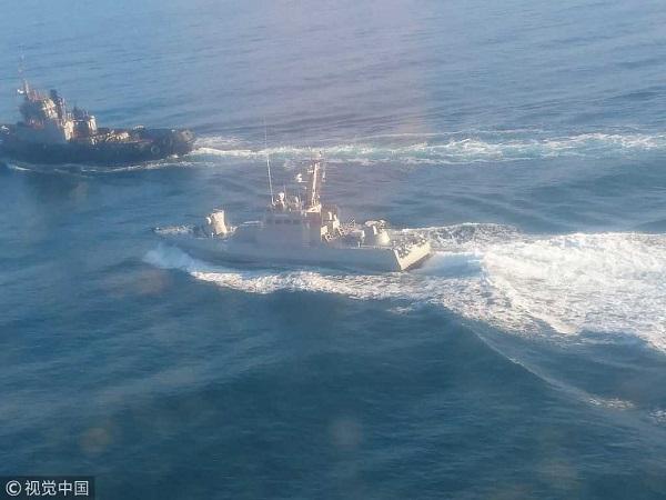 刻赤海峡冲突仍然没有缓和迹象