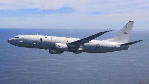 澳大利亚计划派遣的P-8A 型反潜巡逻机
