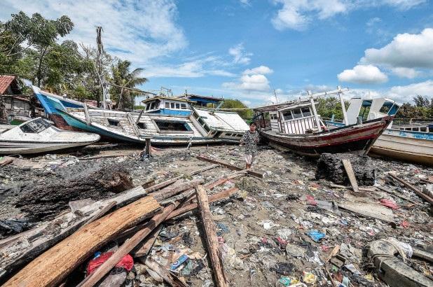 印尼海啸遇难人数升至429人 超1400人受伤