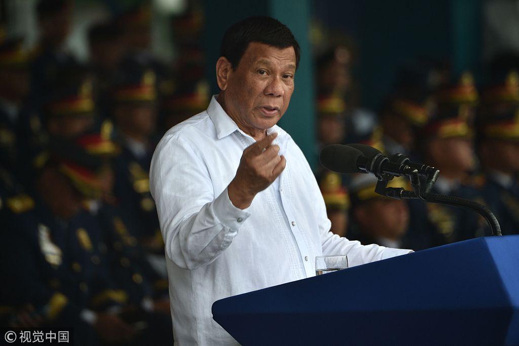 菲律宾总统杜特尔特(视觉中国)