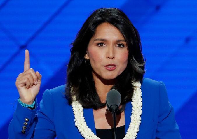 挑战特朗普!民主党女议员决定竞选2020年美国总统
