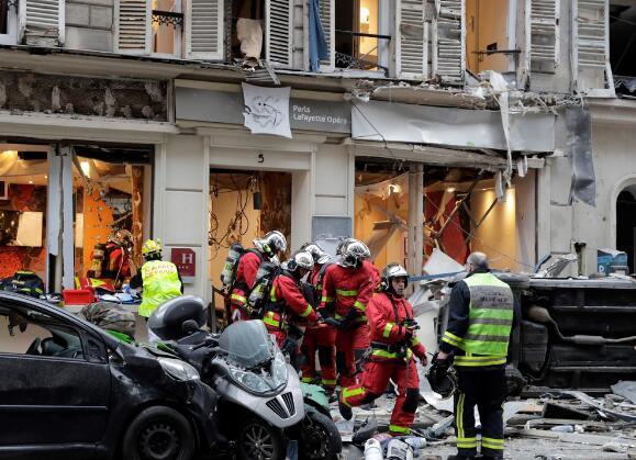 法国巴黎市中心发生爆炸已致20伤 或与燃气泄漏有关