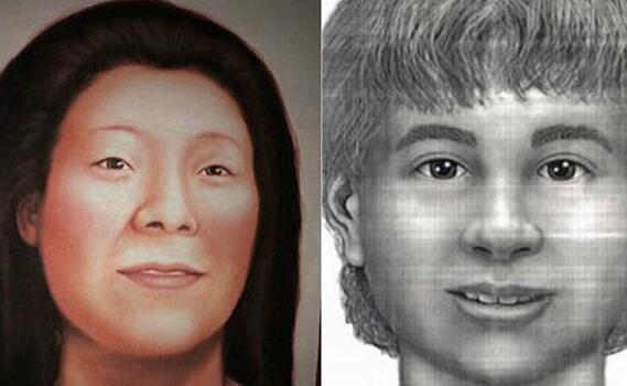 美国一对母子被杀后遭抛尸两地 20年后DNA技术助破案