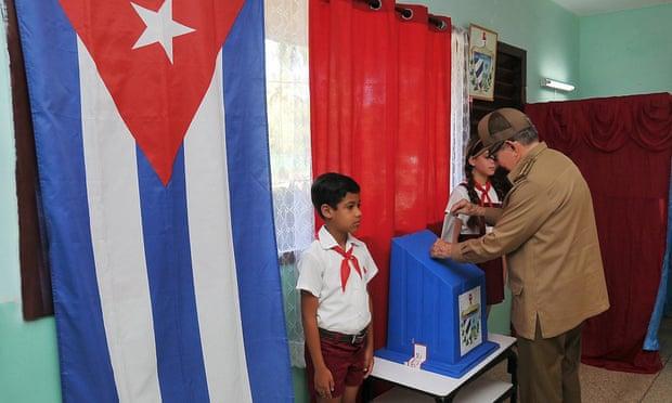古巴新宪法公投(路透社)