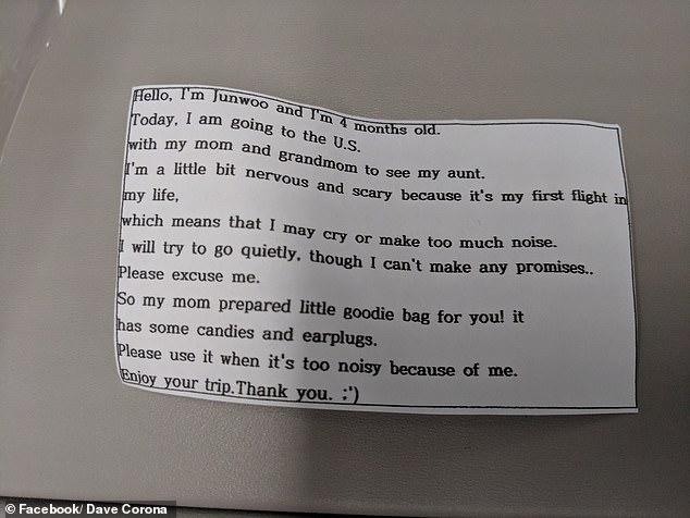 受够了飞机上的熊孩子?韩国妈妈这一举动超暖心