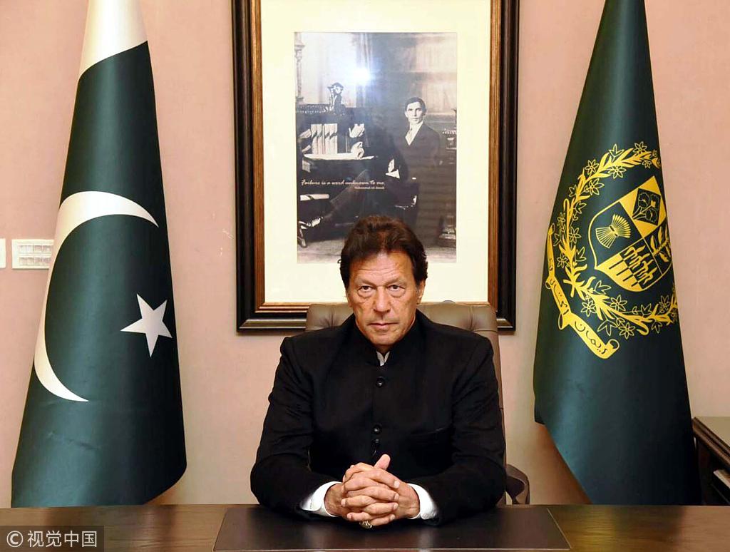 巴基斯坦总理 (图源:视觉中国)