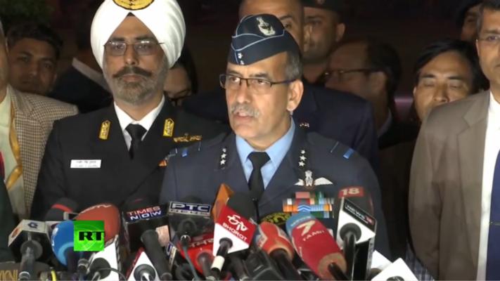 印度空军:巴基斯坦F-16被印方米格-21战机击落