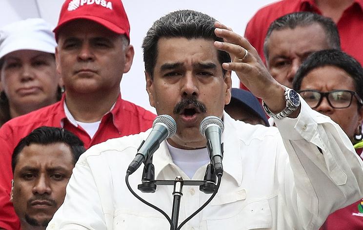 委内瑞拉总统马杜罗。(图:塔斯社)