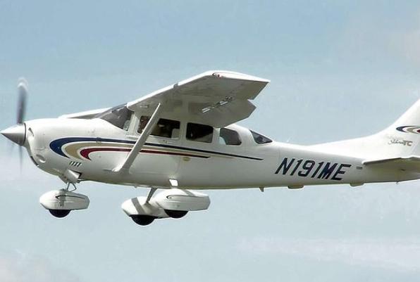 """""""塞斯纳206""""小飞机(图源:每日邮报)"""