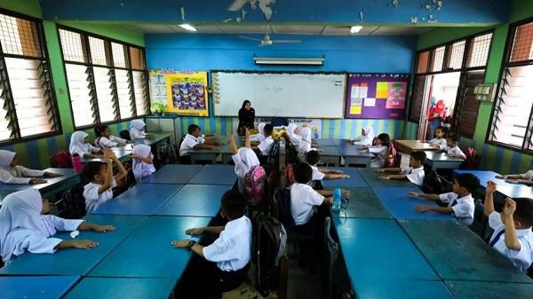 马来西亚当地学生。(图源:BBC)