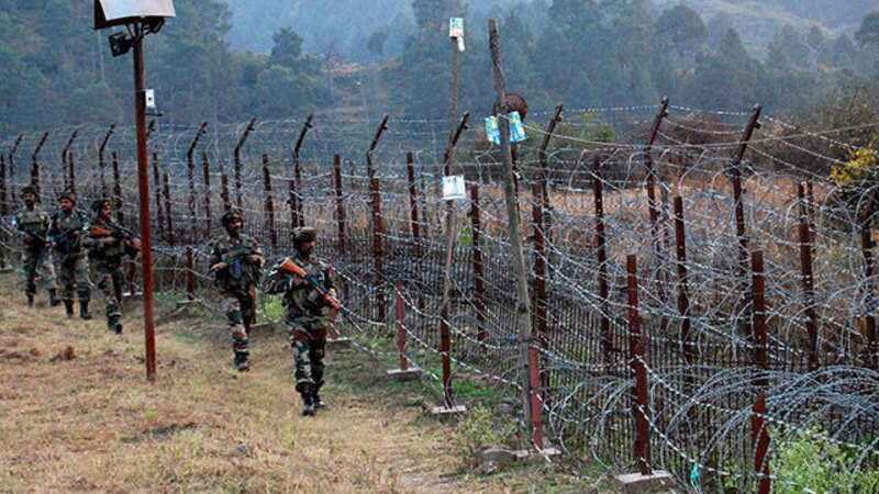 印巴军队在克什米尔又展开激烈交火。(图源:《印度时报》)