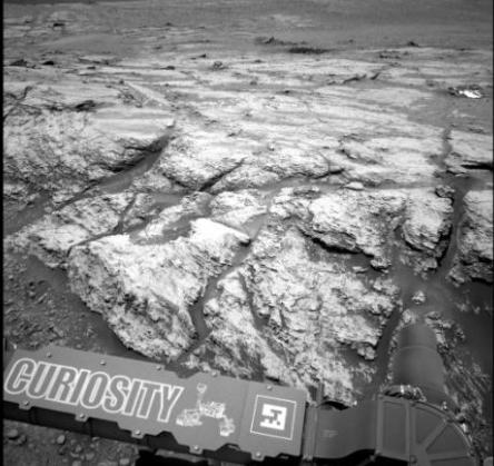 """一大波火星新图来袭!看起来像""""奶油""""和""""曲奇""""(图)"""