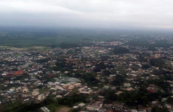 加蓬首都利伯维尔(法新社资料图)