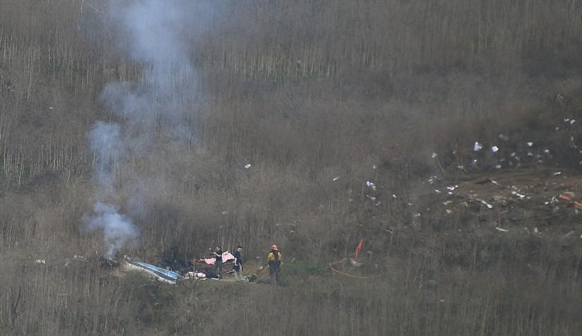 科比前专职飞行员:直升机状况良好 坠毁或因天气