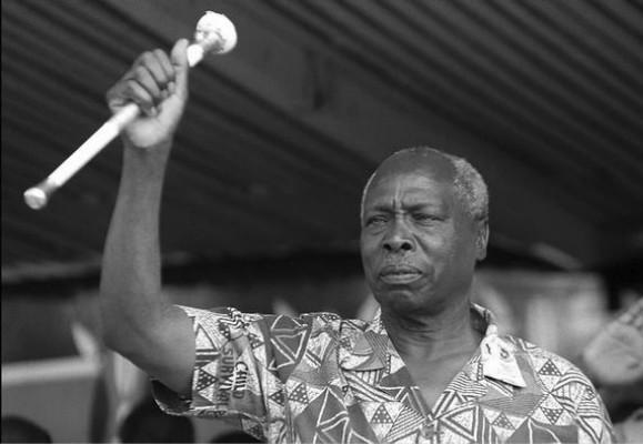 肯尼亚前总统丹尼尔·阿拉普·莫伊(图源:路透社)