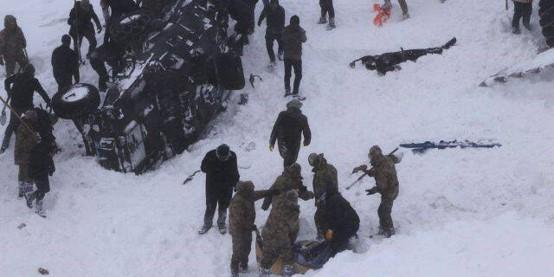 土耳其雪崩死亡人数增至41人 搜寻工作仍在进行