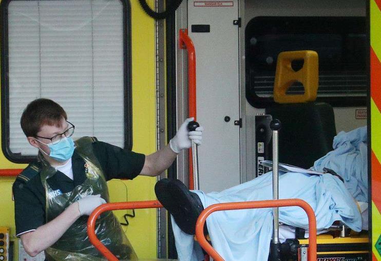 英国新冠肺炎死亡病例数升至欧洲第二 三分之一住院患者死亡
