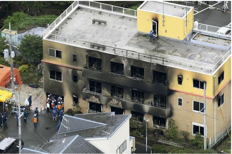 京阿尼纵火犯存活率不足5% 医生全力施救:希望他能正视罪行