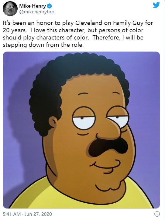 动画《辛普森一家人》宣布:白人演员不再给有色人种角色配音