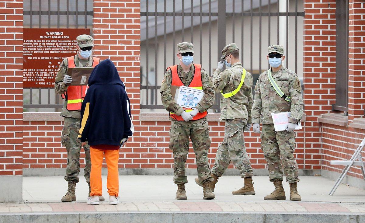 美国一空姐在韩确诊:为美军专机服务 入境后未隔离