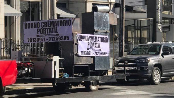 玻利维亚医疗系统崩溃 工程师发明移动火化炉处理街头遭弃遗体