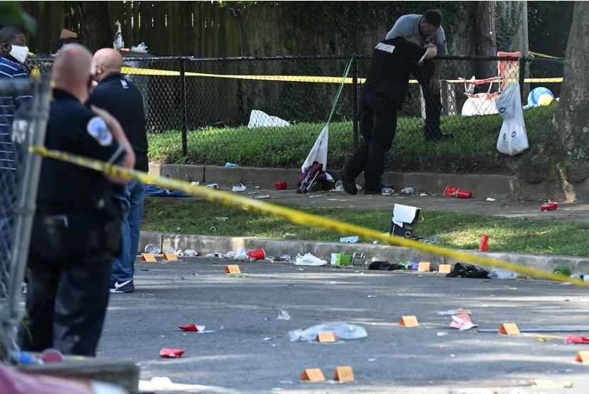 华盛顿深夜派对传出百声枪响 17岁少年被杀20余人受伤