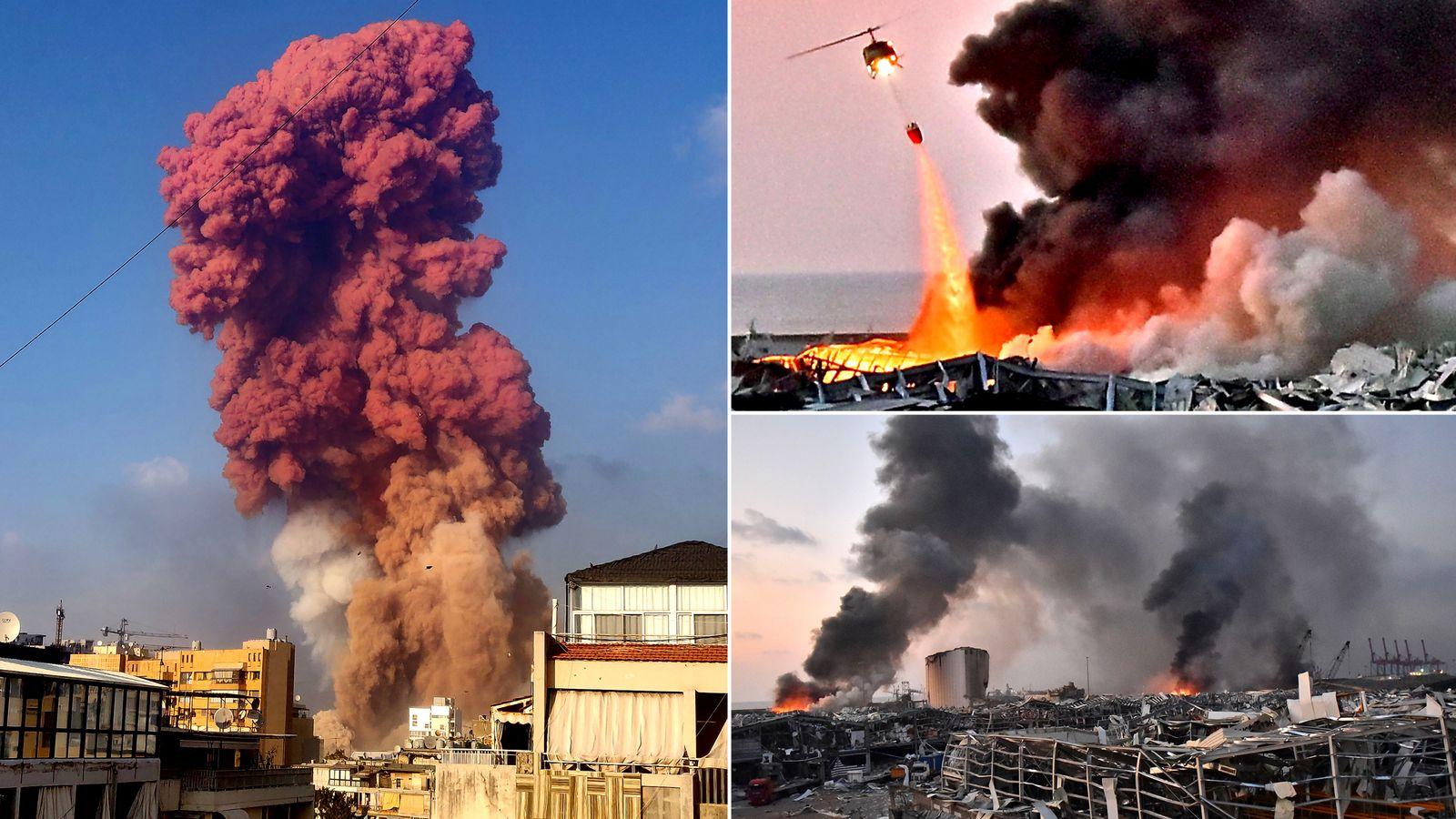 意大利爆破专家:贝鲁特爆炸起因不是硝酸铵 或是军用导弹