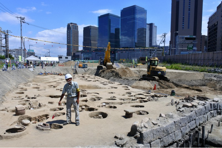 日本大阪市中心挖出1500具人骨 或死于同一波瘟疫