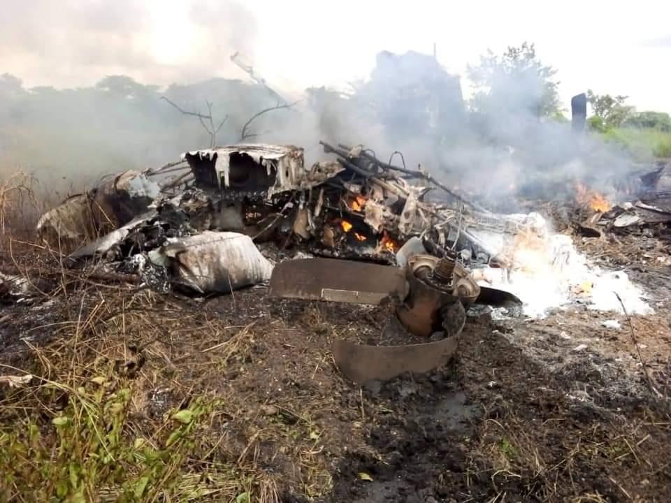 南苏丹一架运输机起飞后坠毁 至少造成17人死亡