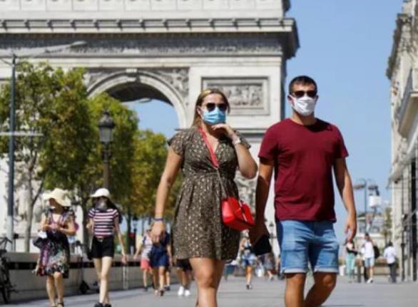巴黎及近郊三省全面强制戴口罩 骑车人员可豁免