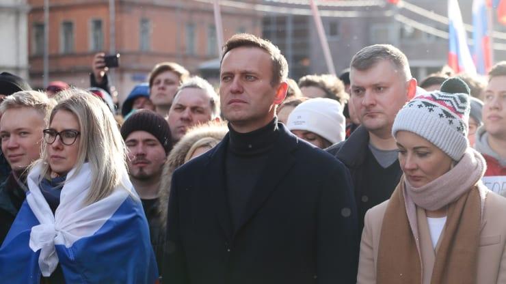俄罗斯反对派人士纳瓦尔尼(图源:Getty)