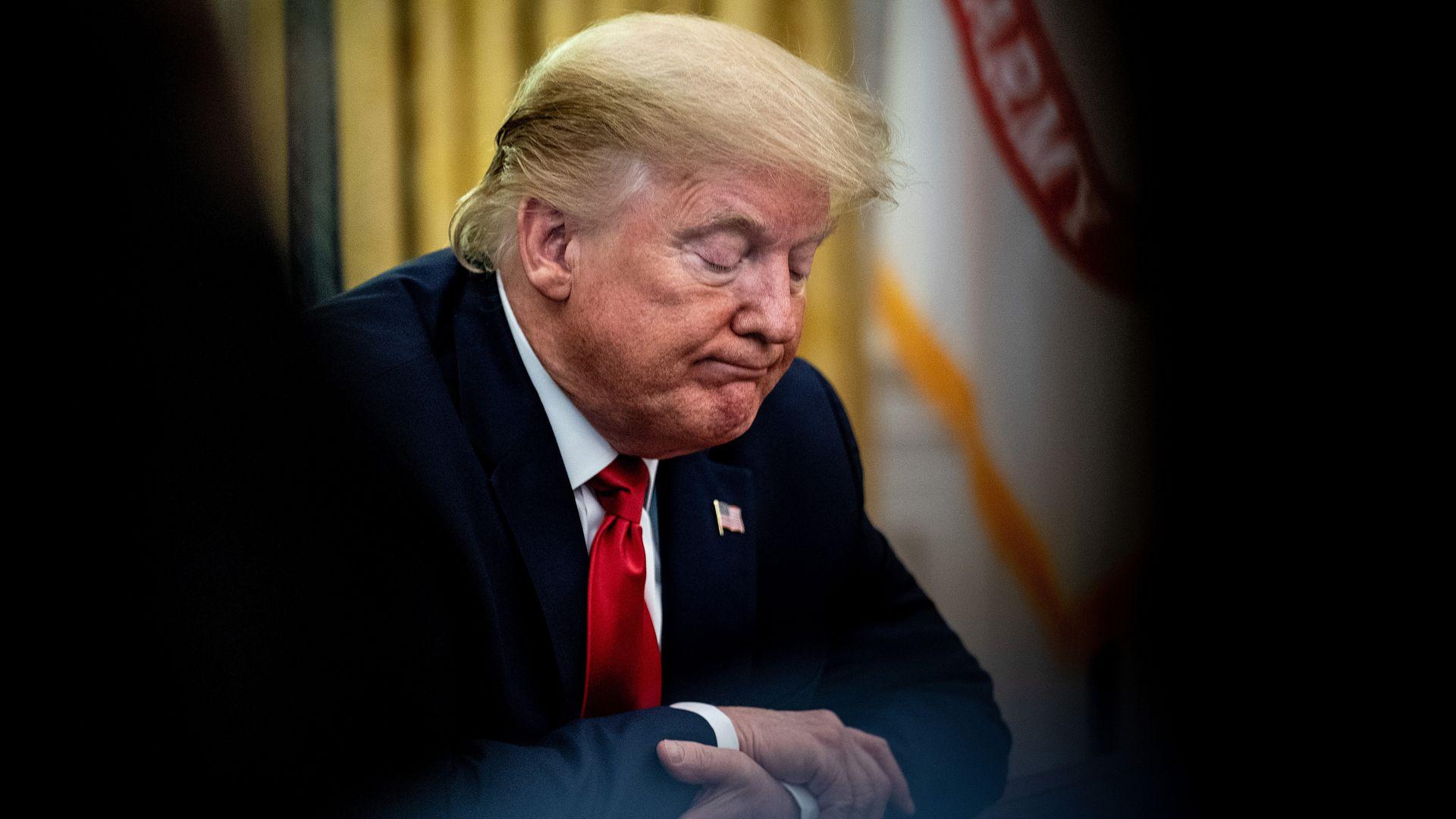 """特朗普否认曾称美国阵亡士兵为""""失败者"""",美媒并不买账"""