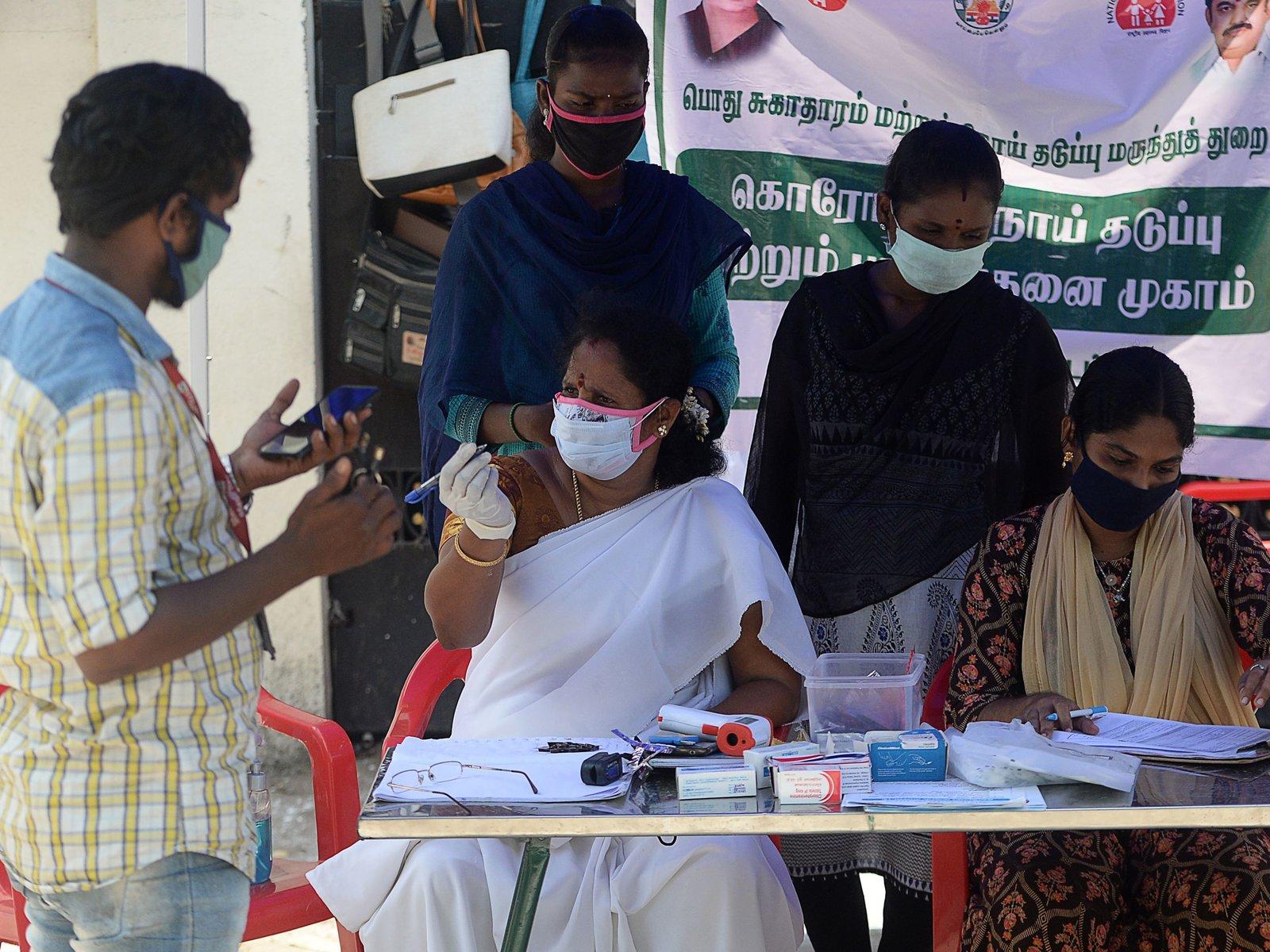 印度媒体报道称疫情已完全失控(图源:Getty)