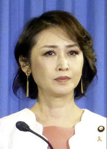 日本参议员三原顺子(共同社)