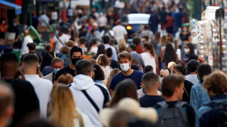 法国日增新冠确诊病例创新高 多地收紧卫生规定
