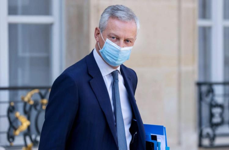 图源:法国经济部长布鲁诺·勒梅尔。(法新社)