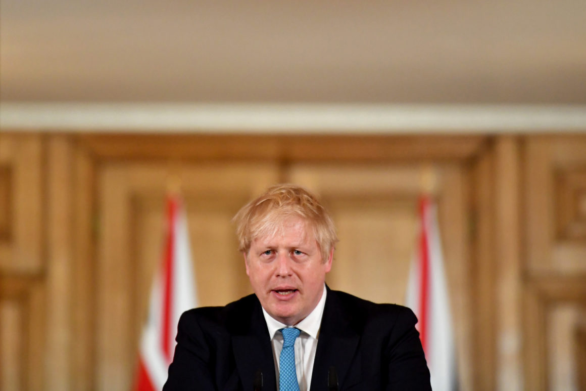 英国首相约翰逊(图源:Getty)