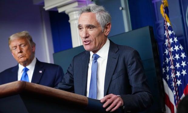 福奇斥责阿特拉斯误导总统。(图源:Getty Images)