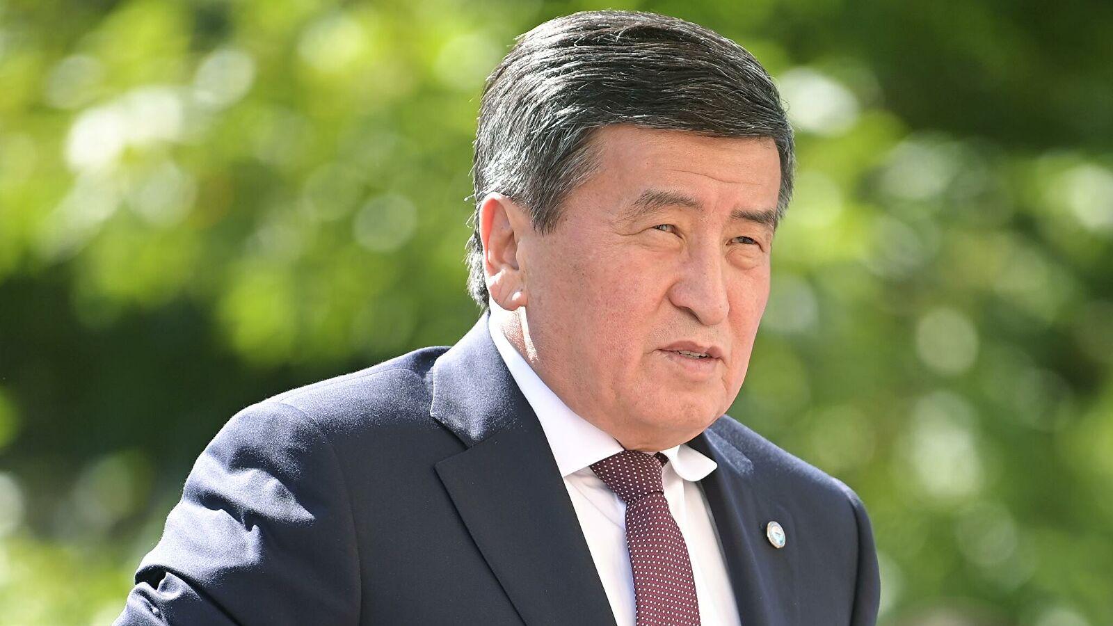 吉尔吉斯斯坦总统热恩贝科夫(俄新社)