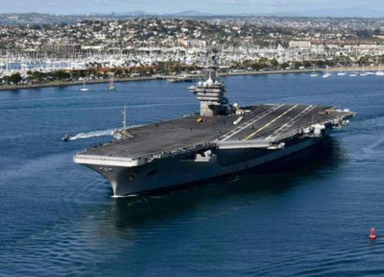 美国航母一水兵执勤时突然开枪自杀 海军犯罪调查处介入