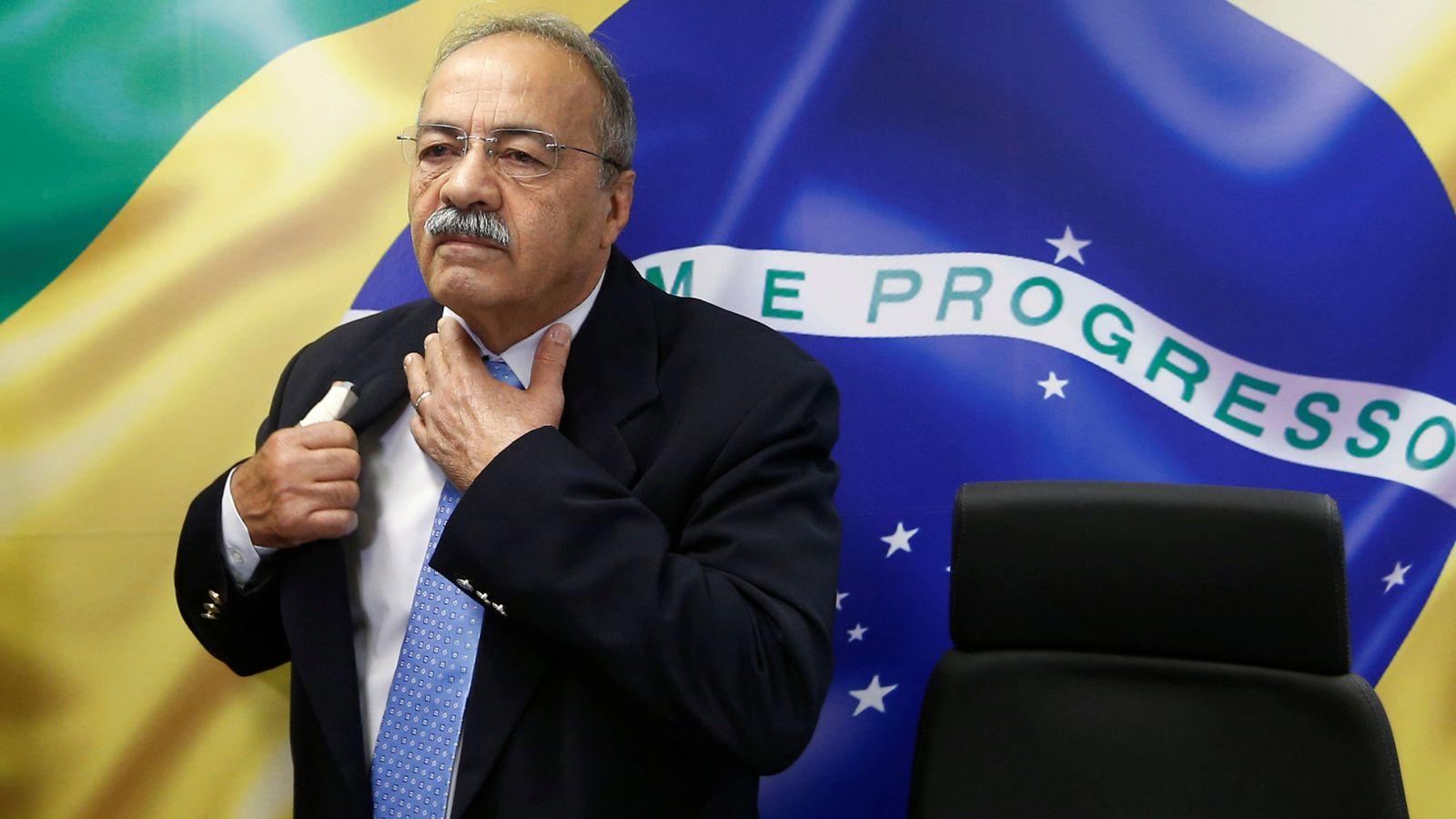 巴西参议员奇科•罗德里格斯(路透社)