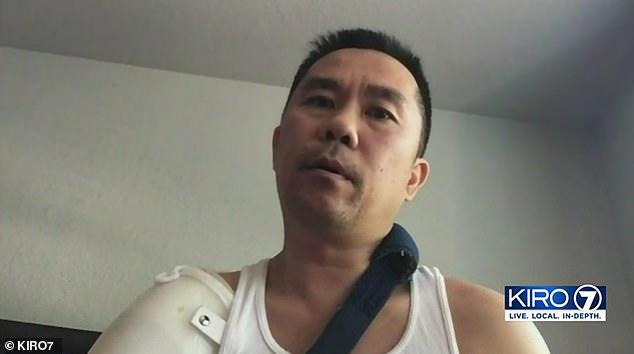 美华裔男子身中9枪没死 白人前妻要求杀手:再试一次