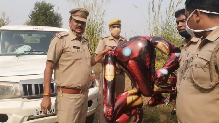 印度警方公布的现场图