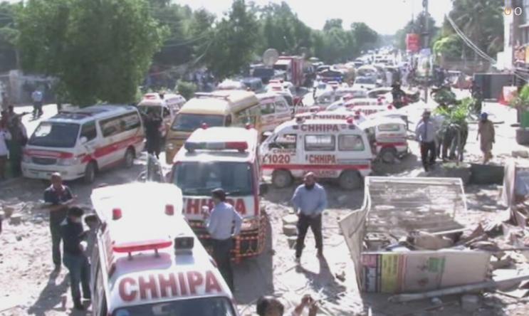 巴基斯坦卡拉奇爆炸已致5死20伤 拆弹小组出动调查