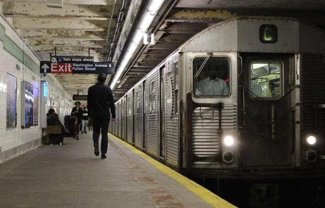 布鲁克林的克林顿-华盛顿大道地铁站 (图源:社交媒体)