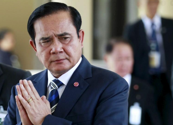 泰国总理巴育(图源:路透社)